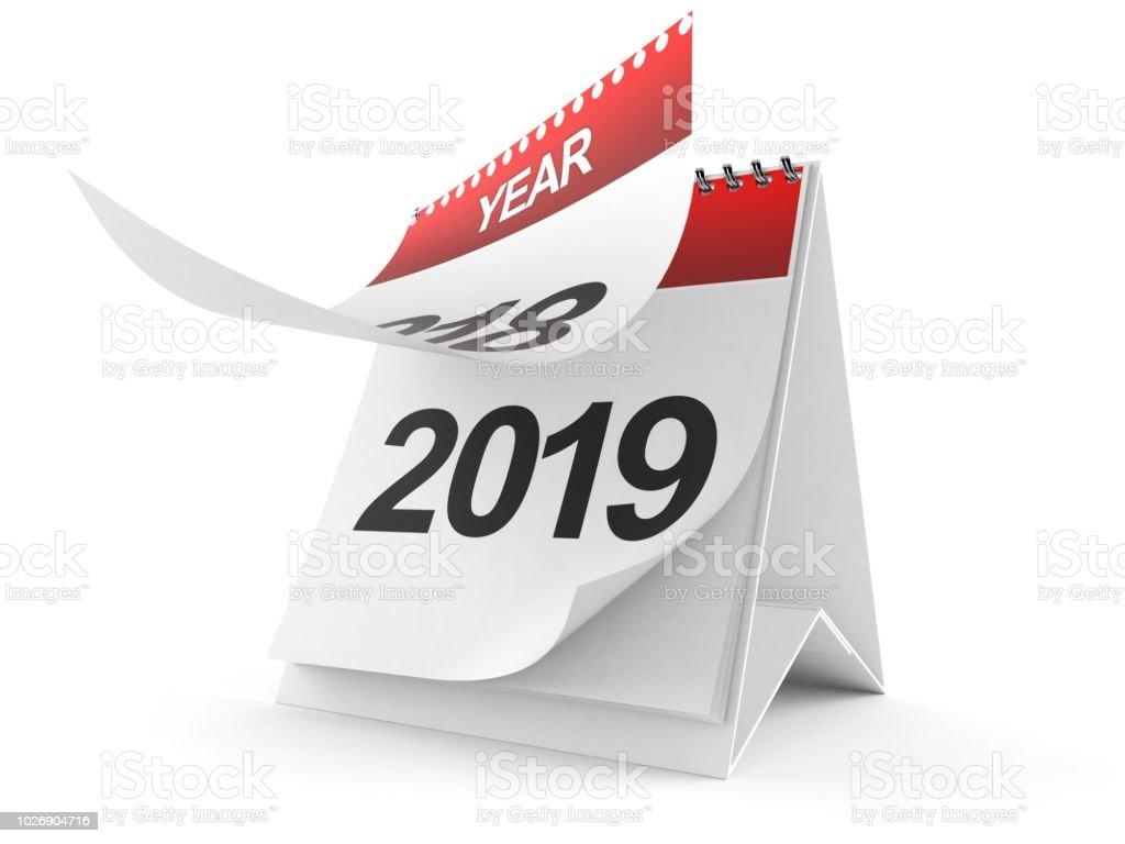 2019 Calendar – zdjęcie