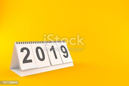 istock 2019 Calendar 1047288940