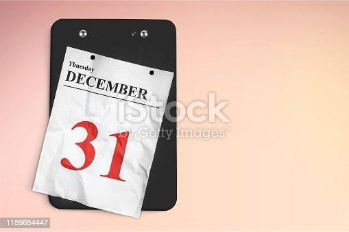 istock Calendar. 1159654447