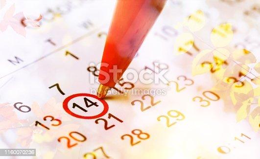 istock Calendar. 1160070236