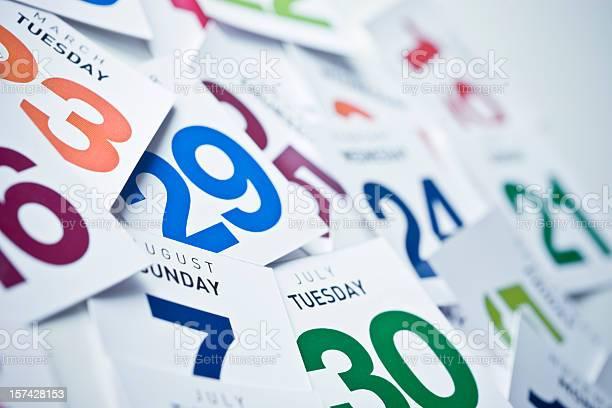 Calendar Stock Photo - Download Image Now
