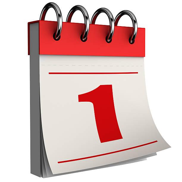 calendrier - calendrier digital journée photos et images de collection
