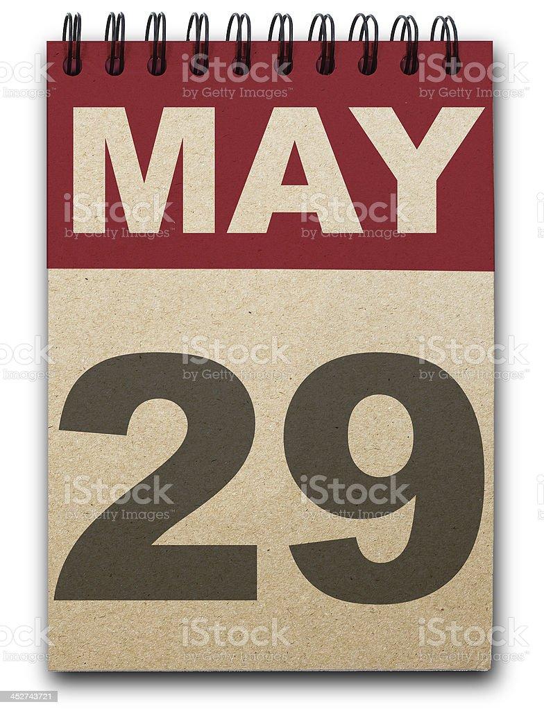 Calendario - foto de stock
