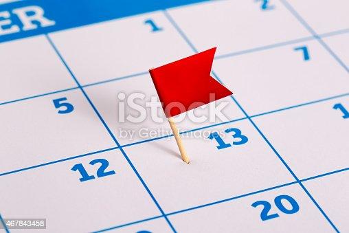 istock Calendar 467843458