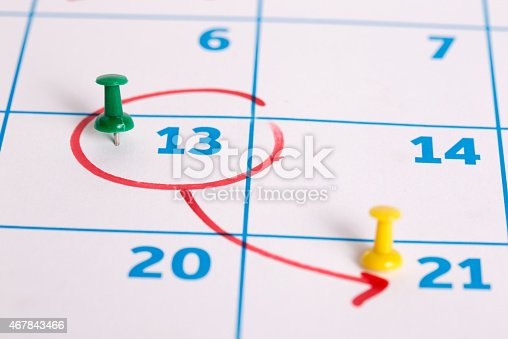 106457993 istock photo Calendar 467843466