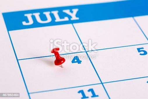istock Calendar 467863464
