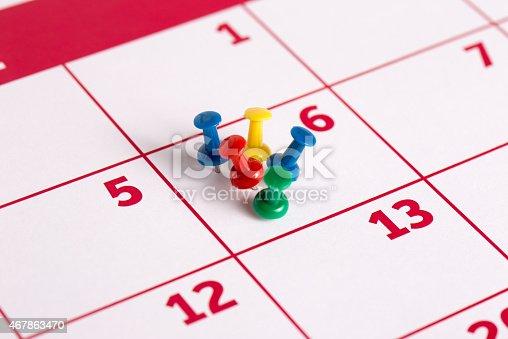 istock Calendar 467863470