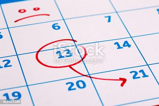 istock Calendar 468451036