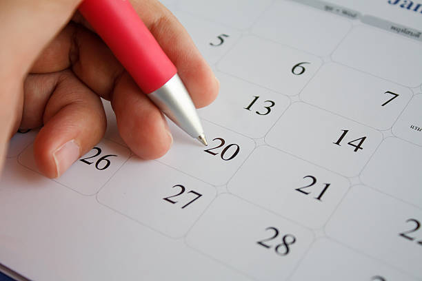 calendar - holiday calendars stock pictures, royalty-free photos & images