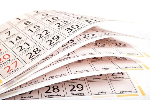 Calendar Stock Photo - Download Image Now - iStock