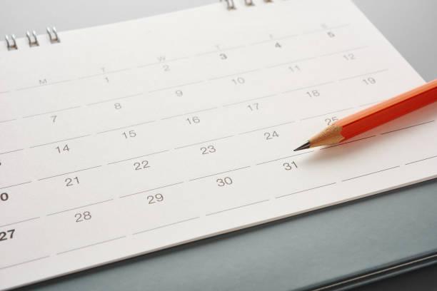 Kalender. – Foto