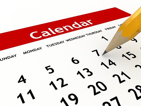Calendar Planning Stock Photo - Download Image Now