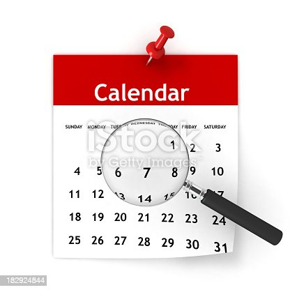 Calendar Planning Stock Photo & More Pictures of 2011
