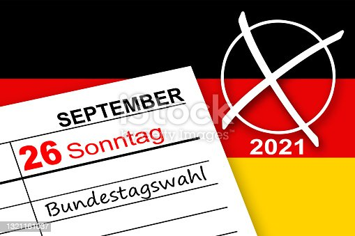istock Calendar September 26  2021 and German Elections 1321161037