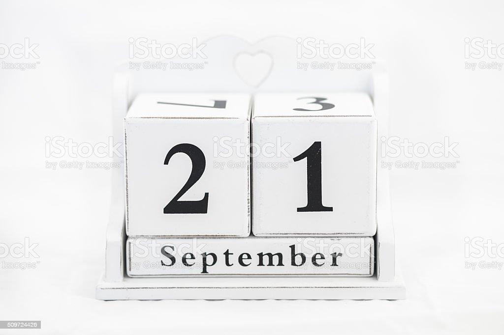 Kalender September Nummer – Foto