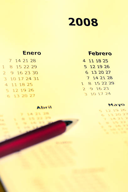 Calendario de Español – Foto