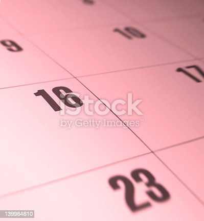 pink abstract calender   change the color by using the hue slider in photoshop
