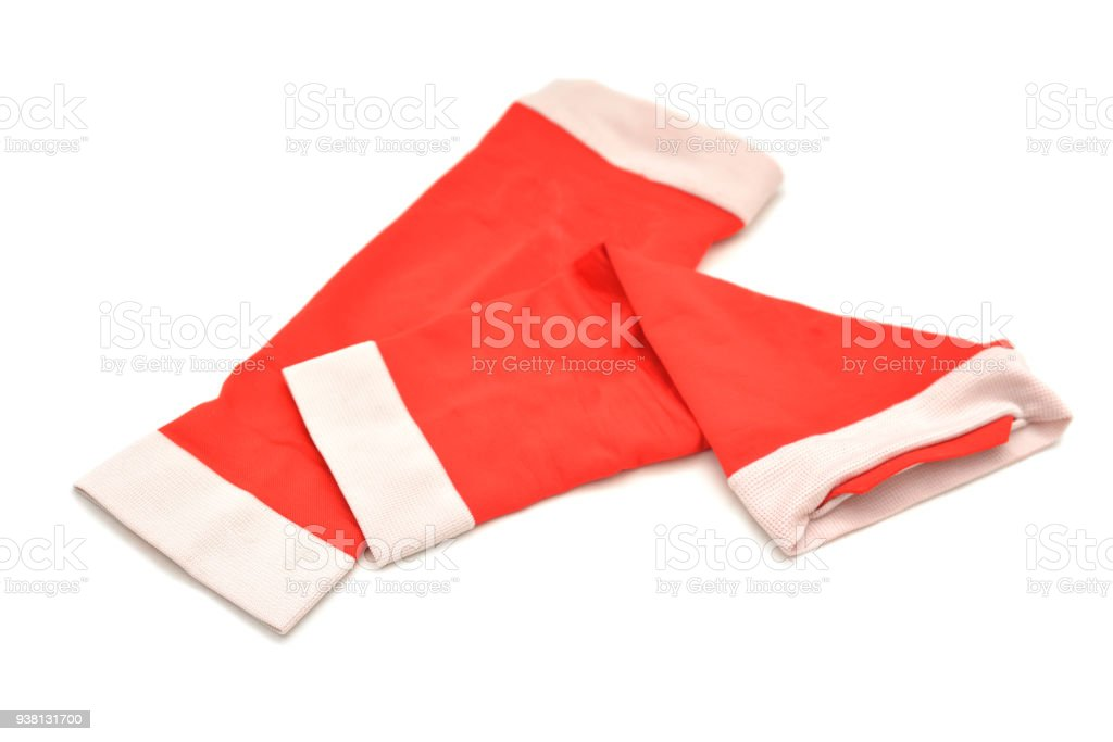 calf compression sleeves stock photo