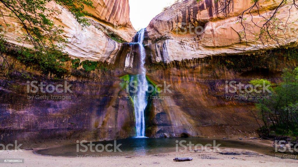 Calf Creek Falls royalty-free stock photo