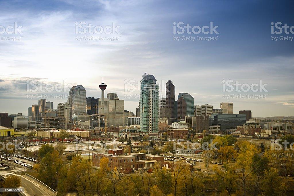 Calgary, Alberta, Canada royalty-free stock photo