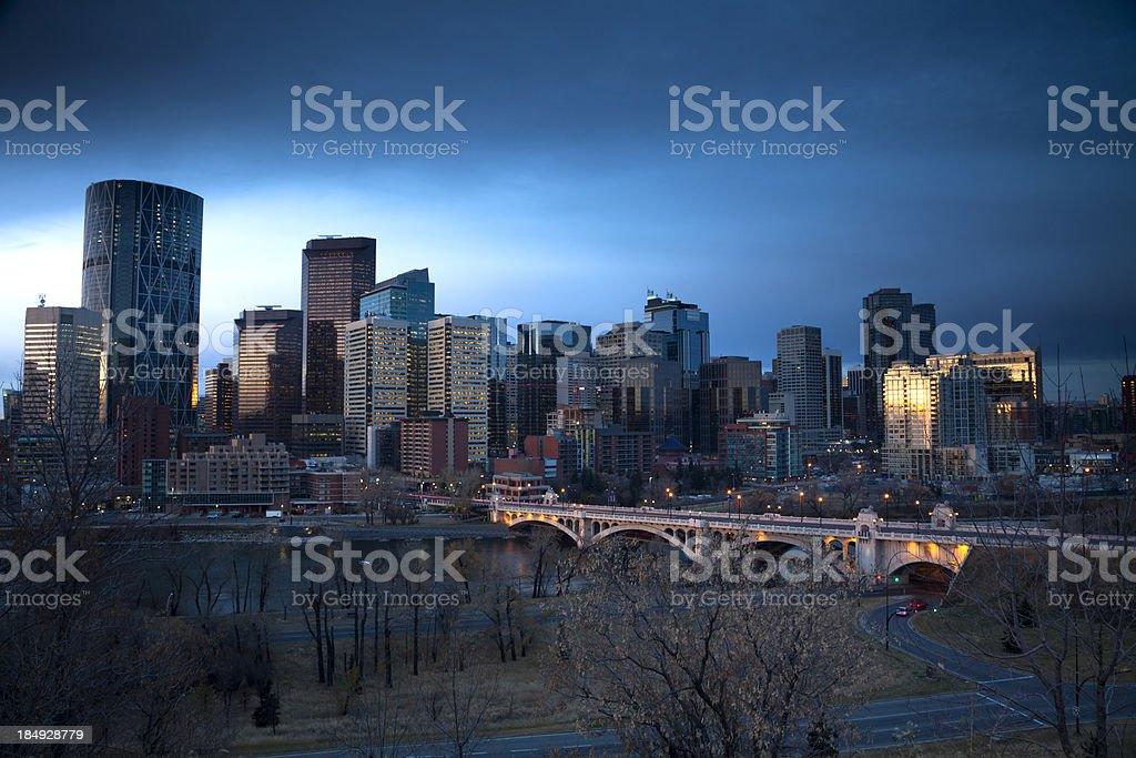 Calgary, Alberta royalty-free stock photo