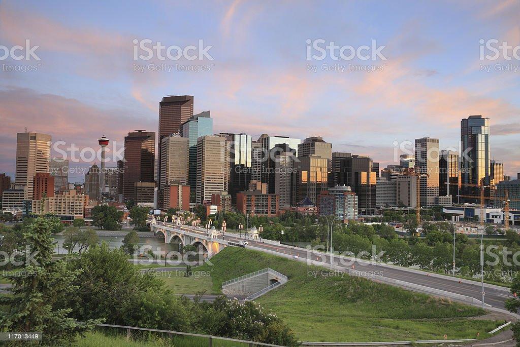 Calgary, Canada royalty-free stock photo
