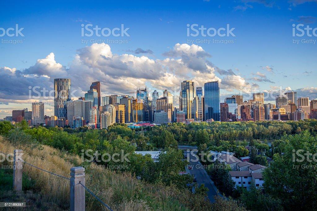 Calgary Downtown - foto stock