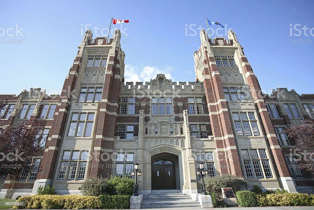 Calgary Higher Education stock photo