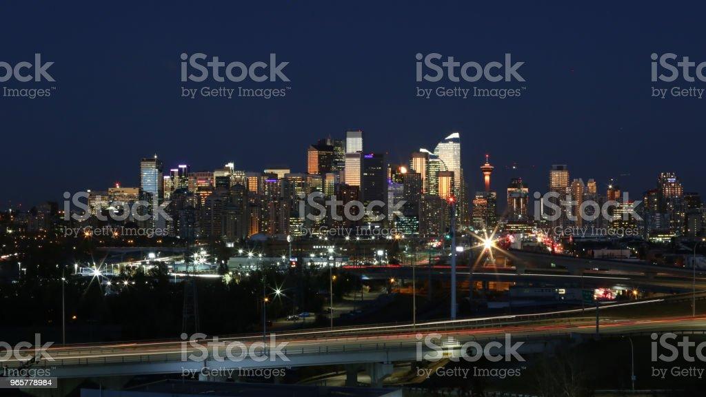 Calgary - Royalty-free Binnenstad Stockfoto