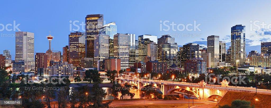 Calgary Skyline stock photo