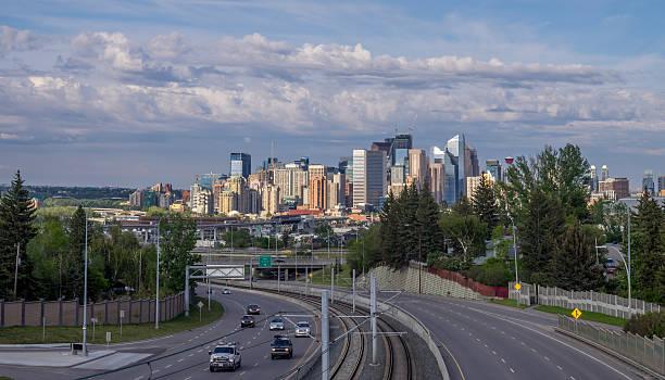 Calgary skyline  - foto stock