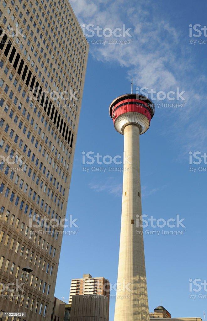 Calgary tower, Alberta,Canada stock photo