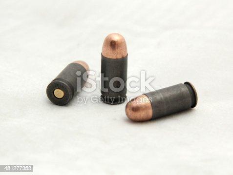 istock Caliber 45 ACP Bullet 481277353