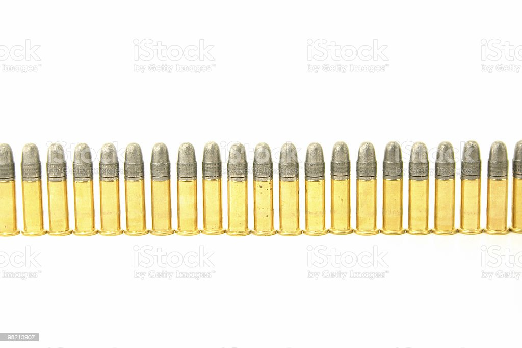 Calibre 22 Soldiers royalty-free stock photo