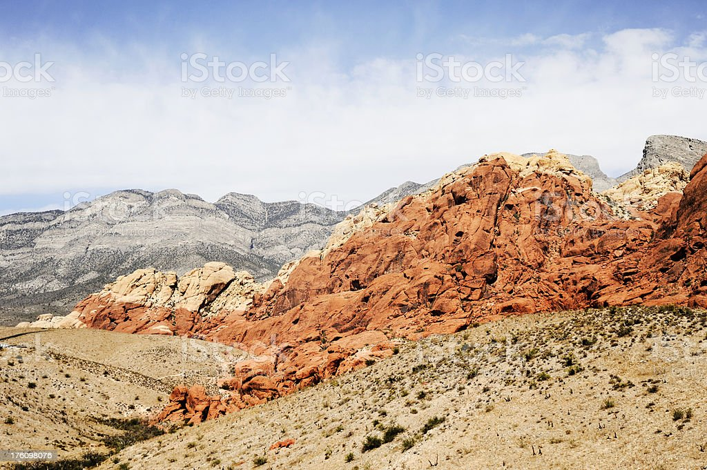 Calico Hills, Red Rock Canyon royalty-free stock photo