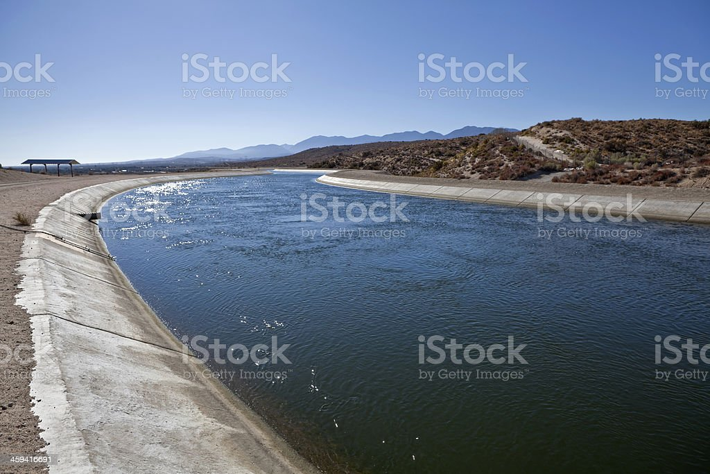 California Aquaduct stock photo