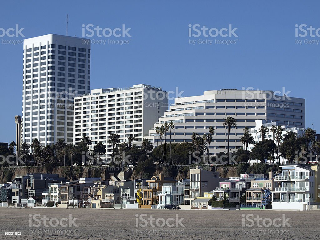 California Beach Front Living royalty-free stock photo