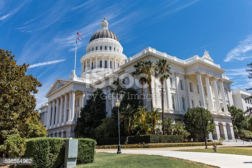 California Capital building in Sacramento