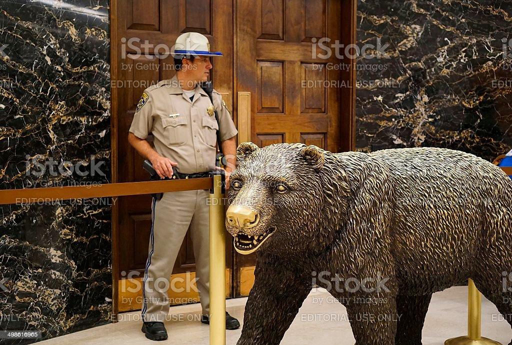California Capitol Building stock photo