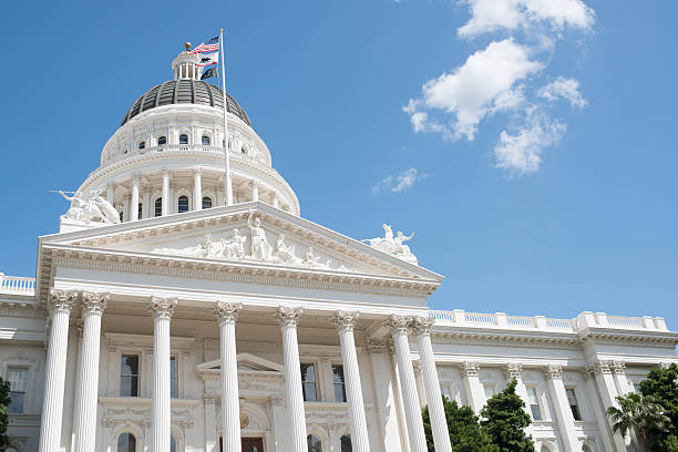 California Capitol Building California Capitol Building in Sacramento state capitol building stock pictures, royalty-free photos & images