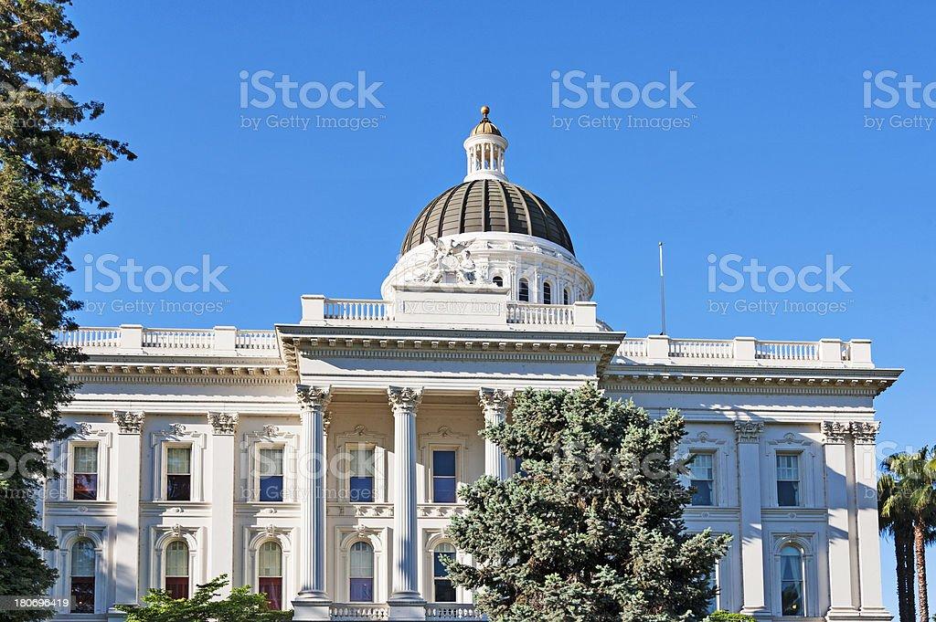 California Capitol royalty-free stock photo