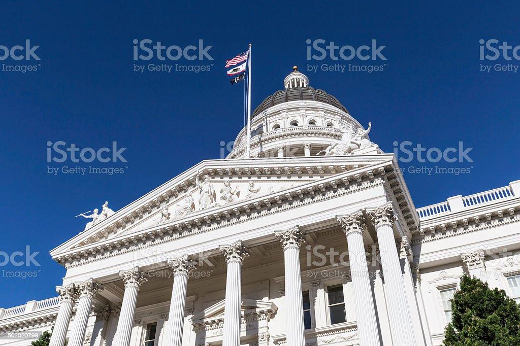 California Capitol Sacramento stock photo
