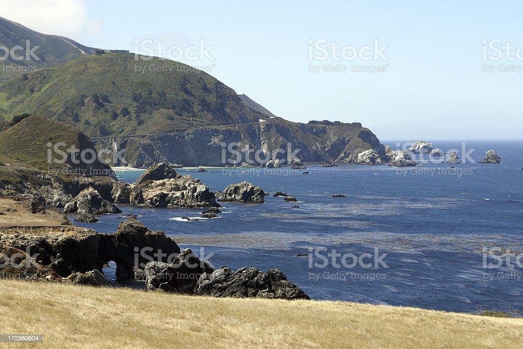 California Central Coast royalty-free stock photo