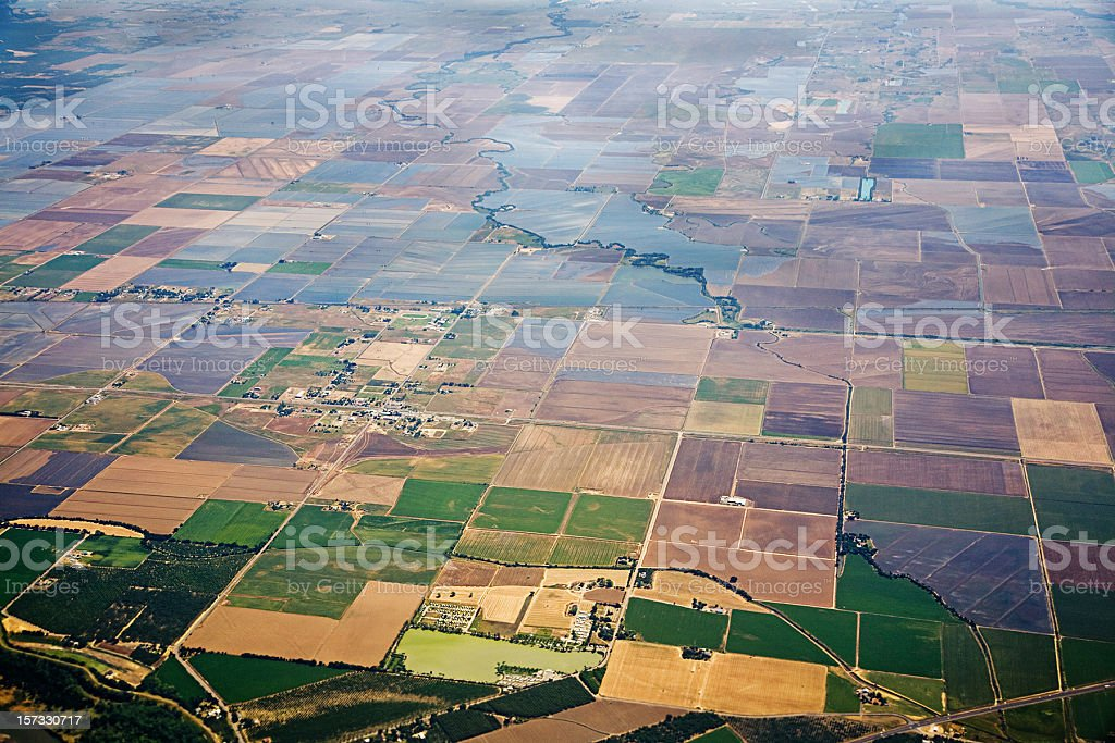 California Central Valley royalty-free stock photo