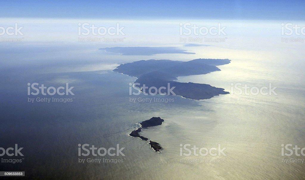 California Channel Islands Anacapa national park Santa Cruz Santa Rosa stock photo