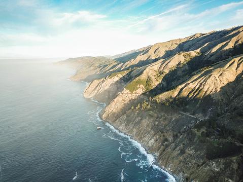 California, Coast - Sunrise, Ocean