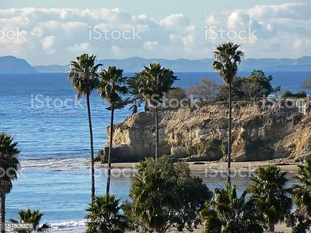 Photo of California coast line