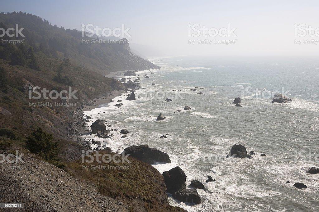 Costa della California foto stock royalty-free