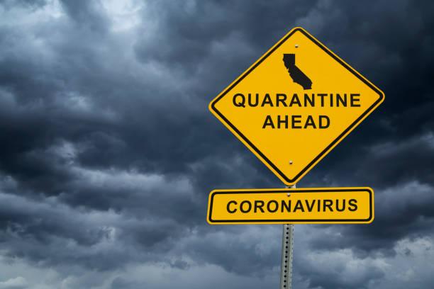 california coronavirus covid-19 quarantine - mphillips007 stock pictures, royalty-free photos & images