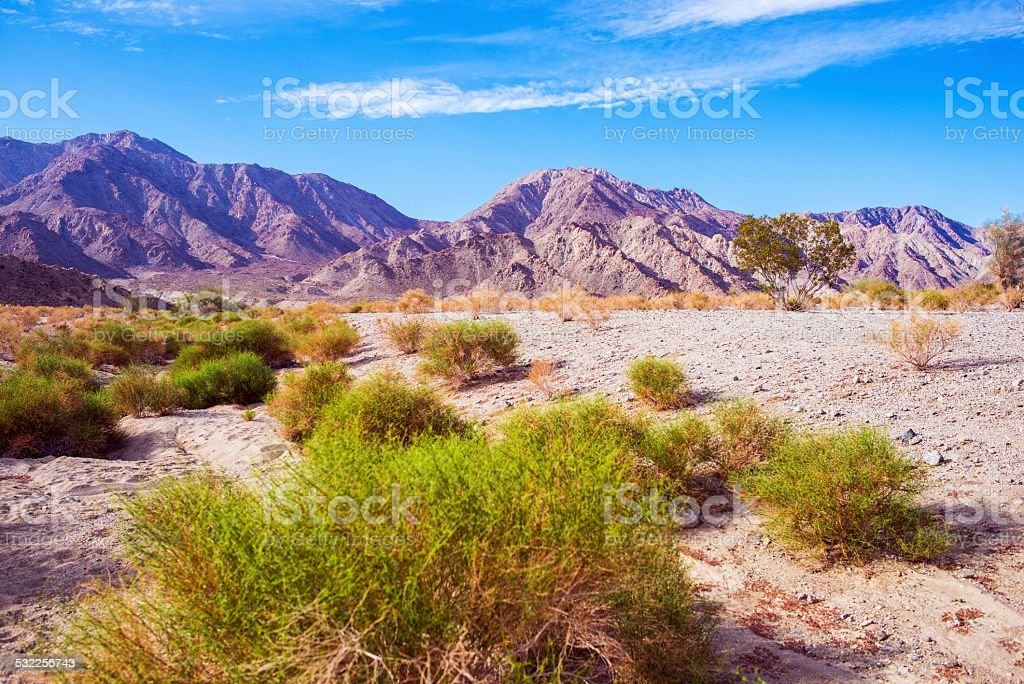 California Desert Lands stock photo